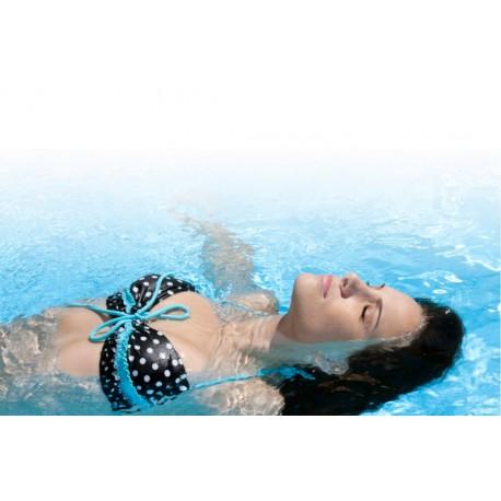 Terapia de flotación con hidratación flash