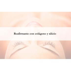 Facial Reafirmante con colágeno y silicio