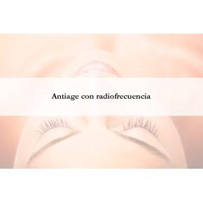 Facial Antiage con Radiofrecuencia INDIBA